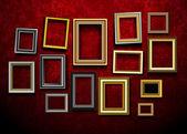 Vector de marco de imagen. vector de marco de foto arte gallery.picture. ph — Vector de stock