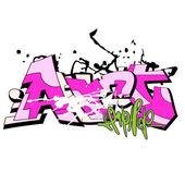 Sfondo di graffiti, arte urbana — Foto Stock