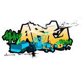 фоне граффити, городского искусства — Стоковое фото