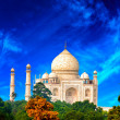 Taj Mahal, India — Stock Photo