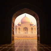 Taj mahal india — Stockfoto