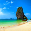 Thailand beach and tropical island — Foto Stock