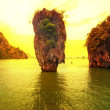 ������, ������: James Bond island sunset panoramic photography Famous travel de