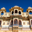 Stock Photo: Udaipur architecture, India, Rajasthan