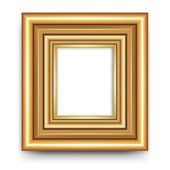 Frame vector for photo or picture — Stockfoto