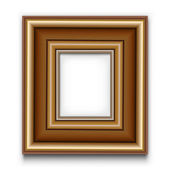 Frame vector for photo or picture — Stock Vector