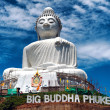 Thailand Buddha statue in Phuket — Stock Photo