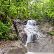 Waterfall in tropical rain forest jungle. Thailand beautiful nat — Stock Photo #27593333