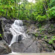 Waterfall in tropical rain forest jungle. Thailand beautiful nat — Stock Photo #27593423