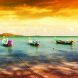 Thailand tropical beach exotic landscape — Stock Photo