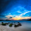Ocean beautiful sunset landscape — Stock Photo