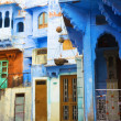 Stock Photo: Indiblue city Jodhpur, Rajasthan