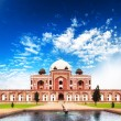 Stock Photo: IndiDelhi Humayun tomb mausoleum. Indiarchitecture monument