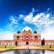 India Delhi Humayun tomb mausoleum. Indian architecture monument — Stock Photo