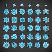 Boże narodzenie śniegu — Wektor stockowy
