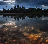 Tempio di angkor wat in cambogia — Foto Stock