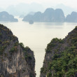 Halong Bay Vietnam natural landscape background — Stock Photo #44798039