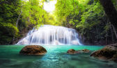 Tropical waterfall in Thailand — Stock Photo