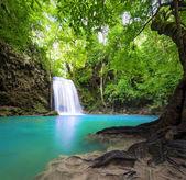 Waterfall landscape background. — Stock Photo