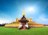 Pagoda wat Phra That Luang — Stock Photo