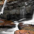 Mountain river waterfall — Stock Photo #48892923