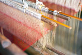 Silk production factory. — Stock Photo