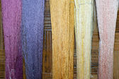 Silk fiber — Stock Photo