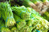 Green salad healthy food background. — Стоковое фото
