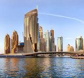 DUBAI, UAE - OCTOBER 23: View of the region of Dubai - Dubai Mar — Stock Photo