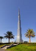 Dubai, Emirati Arabi Uniti - 23 ottobre: burj khalifa, l'edificio più alto in t — Foto Stock