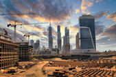 Grandiose construction in Dubai, the United Arab Emirates — Стоковое фото