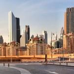 DUBAI, UAE - OCTOBER 23: Financial Centre Road on October 23, 20 — Stock Photo