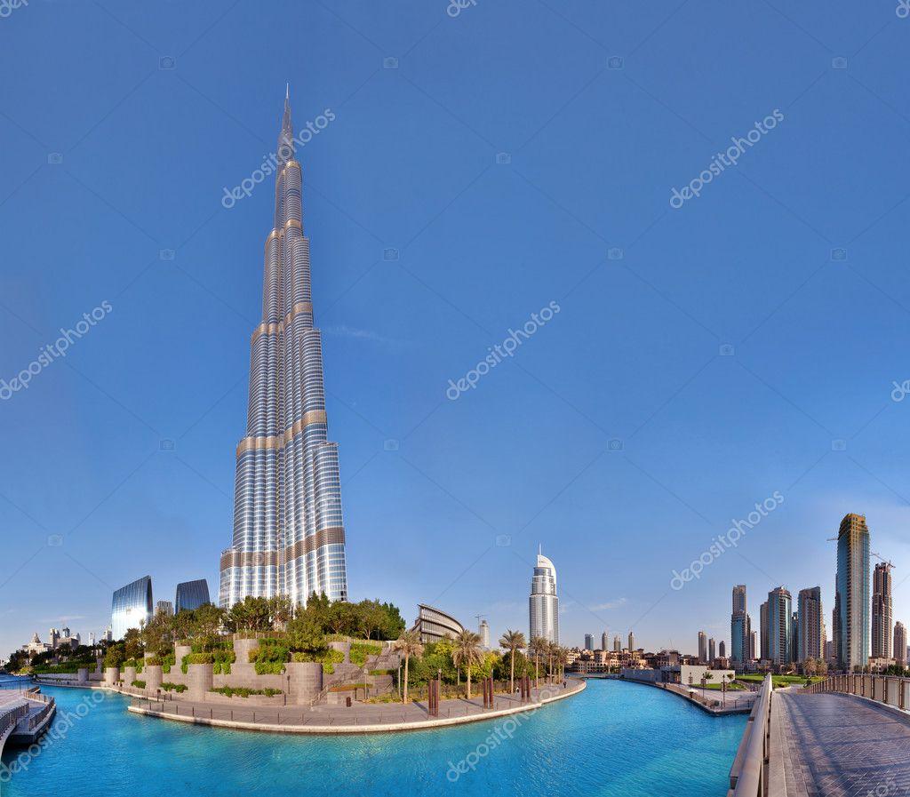 dubai emiratos rabes unidos de octubre burj khalifa el edificio ms alto del mundo centro de la ciudad el de octubre de en dubai