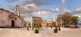 HAVANA, CUBA - MAY 15: Plaza San Francisco de Asis on may 15, 20 — Stock Photo
