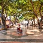 The boulevard of El Prado in Old Havana — Stock Photo