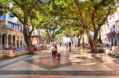 The boulevard of El Prado in Old Havana — Stock Photo