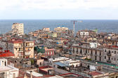 Top view of the city of Havana — Stock Photo