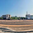 Panoramic views of Plaza of Revolution — Photo