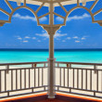 Atlantic Ocean in Varadero, Cuba — Foto Stock