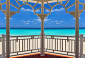 Atlantic Ocean in Varadero, Cuba — Stock Photo