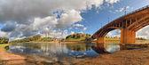 River Zapadnaya Dvina — Stock Photo
