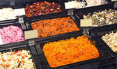 Saláty — Stock fotografie