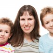 Mother and sons — Stock Photo #24262579