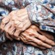 Very old womhands — Stock Photo #28289607
