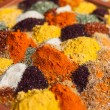 Stock Photo: Pepper powder herbal spice condiment ingredients at food market