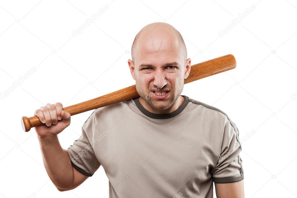 main de l 39 homme en col re qui batte de baseball sport photographie ia 64 50797057. Black Bedroom Furniture Sets. Home Design Ideas
