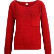 Red knitted sweater isolated on white — Stock Photo #37563573