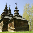 Wooden church — Stok fotoğraf