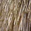 Texture. straw roof — Stock Photo
