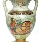 Traditional Greek vase — Stock Photo